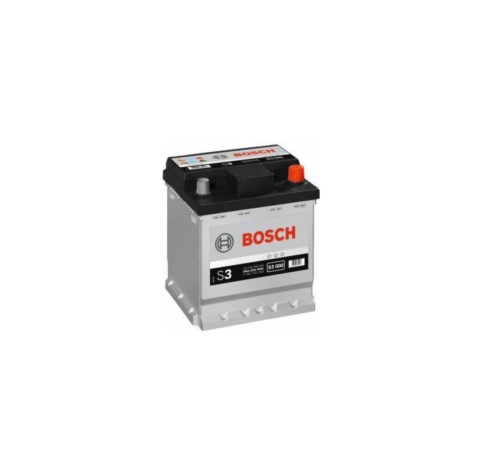 Autobaterie Bosch S3 12V 40Ah 340A